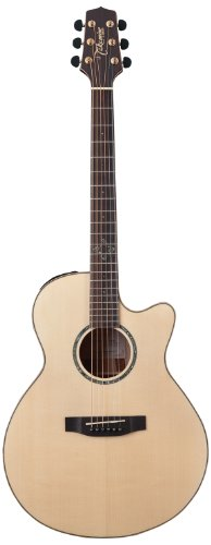 Takamine EG463SC NEX Mini Jumbo Acoustic-Electric Guitar with Stand, Cable, Strings, Takamine Suede Strap and Pick Sampler