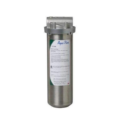 Aqua Pure SST1HA Industrial Grade Water Filter, Stainless Steel (Hot Water Filter Under Sink compare prices)