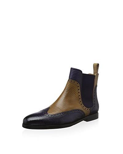 Melvin & Hamilton Chelsea Boot Susan 35 braun/violett