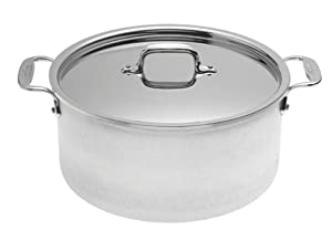 All-Clad 7508 Master Chef 2 Stainless Steel Tri-Ply Bonded Dishwasher Safe Stockpot... by All-Clad