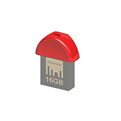 Strontium Nitro Plus Nano 16GB USB 3.0 Pen Drive (Red)