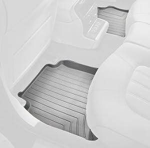 WeatherTech Custom Fit Rear FloorLiner for Ford F150 Super Cab, Grey