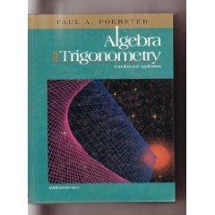 Algebra & Trigonometry: Functions & Applications