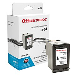 Office Depot(R) Brand 61 (Hp 61 / Ch561Wn) Remanufactured Black Ink Cartridge
