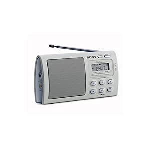 sony icf m410l radio portable tv amp vid o. Black Bedroom Furniture Sets. Home Design Ideas