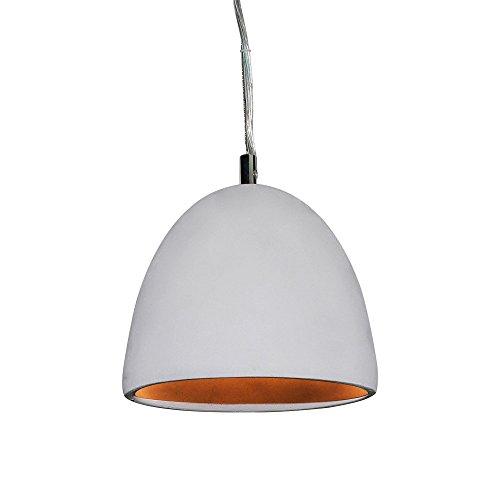LNC Vintage Concrete Pendant Light Cement Finish Hanging Lamp Ceiling Lighting Fixture