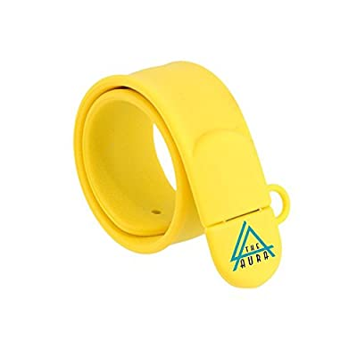 Wrist Band Pen Drive 16GB (Yellow)