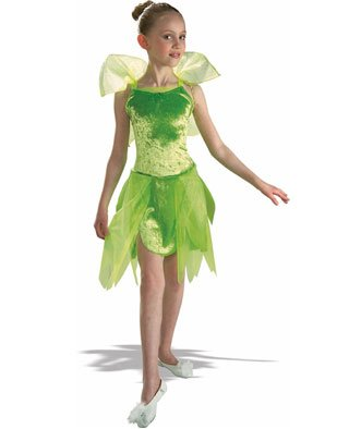 Child's Tinkerbell Costume Medium