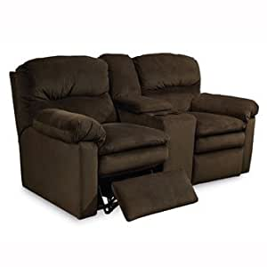 Lane Touchdown Double Reclining Loveseat With Console You Choose The Fabric