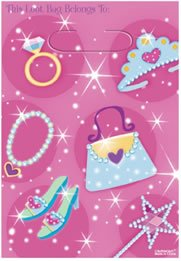 Amscan Princess Loot Bags - 8 ct -- multicolor - 1