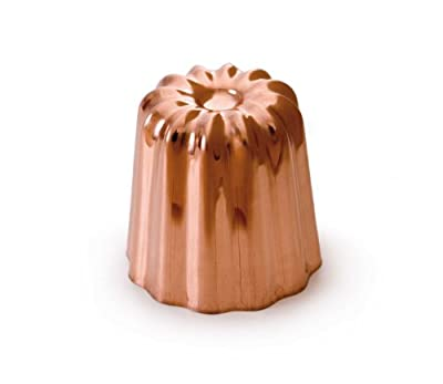 Mauviel M'Passion 4180.55 Canele 2-Inch Mold, Tinned Interior