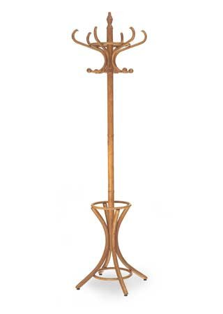 Coat And Hat Wooden Rack Antique Style With Umbrella Stand