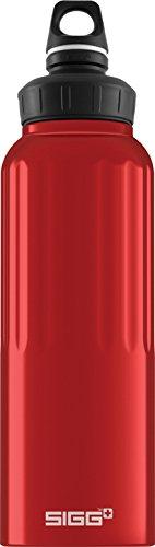 Sigg 1.5 Liter Wide Mouth Bottle, Traveller Red front-780263