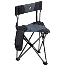 GCI QUIK-E-SEAT Stool with Padded Back