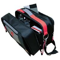 CineBags CB-10 LE (Limited Red Dragon Edition) Cinematographer Bag - Black /Gray with Red Webbing