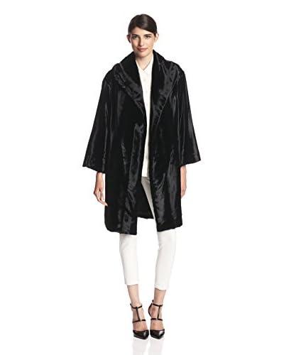 Natori Women's Embossed Velvet Coat