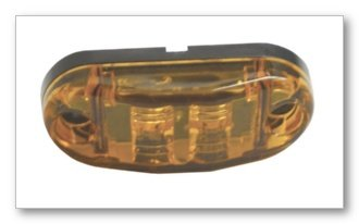 """Grote 47013 2 1/2"""" Oval Clearance / Marker Led Lamp"""