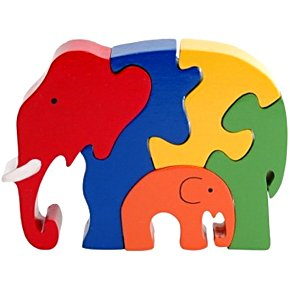 Cheap Fun ImagiPLAY Elephant Puzzle (B001E7S5KK)