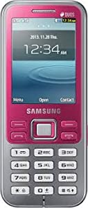 Samsung Metro Duos GT C3322i Pink Color available at Amazon for Rs.4062