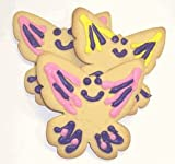 Scott's Cakes Mixed Color Iced Butterfly Sugar Cookies 4lb. Box