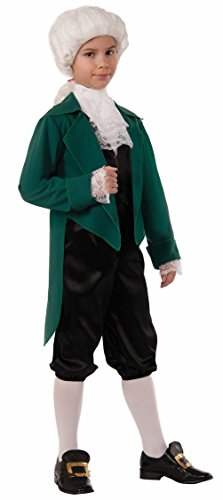 Thomas Jefferson Child Costume American Founding Father Historical Declaration