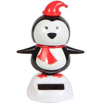 Solar Powered Dancing Penguin - 1