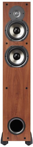 Learn More About Polk Audio Monitor 55T Two-Way Ported Floorstanding Speaker (Single, Cherry)