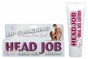 Pipedream Products Head Job Oral Sex Lotion - Passion Fruit