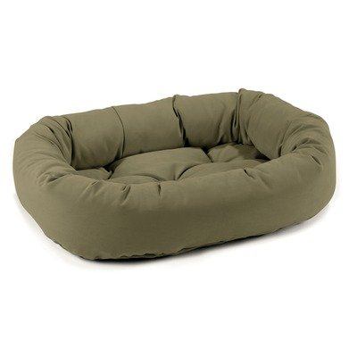 Donut Dog Bed in Avocado Size: X-Small (22