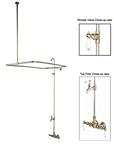 Elements Of Design DT0618PL St Louis Clawfoot Tub Filler