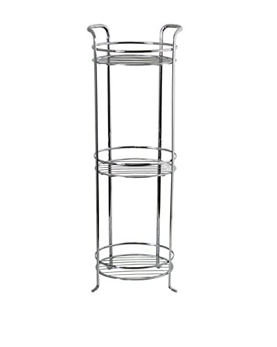 InterDesign Axis 3-Tier Shelf, Chrome