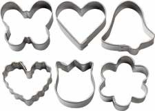 Wilton Mini Romantic Metal Cookie Cutter Set