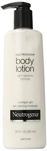 Neutrogena Body Lotion Light Sesame Formula 8 5 Ounce