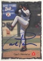 Carl Pavano Pawtucket Red Sox - Red Sox Affiliate 1997 Best Autographed Hand Signed... by Hall of Fame Memorabilia