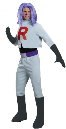 Pokémon Team Rocket James, Multicolor, Standard Costume