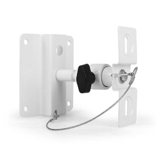 Support pour enceintes universel mur/plafond -charge maximale 10kg - blanc