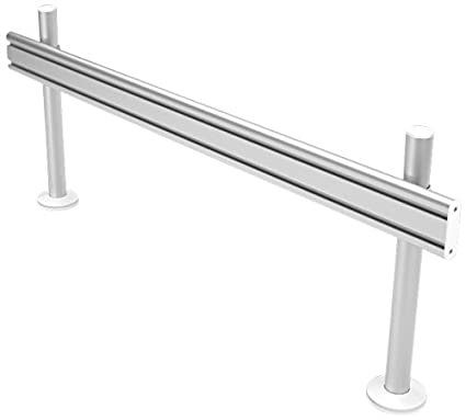 Dataflex Viewlite toolbar - desk 702 - flat panel desk mounts (Silver, White)