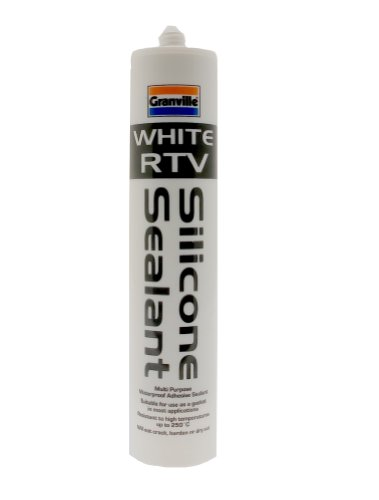 Granville 0240 310ml RTV Silicone Sealant - White