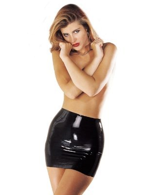 sharon-sloane-latex-mini-skirt-black-14