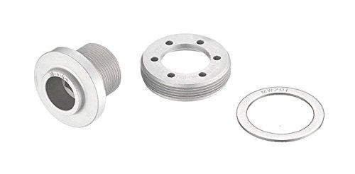 fsa-unisex-bb30-qr-16-oem-crank-bolt-silver-30-mm