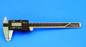 """Digimatic Caliper 6""""L W/O Spc Output With Thumb Roller"""