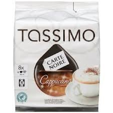 Tassimo Carte Noire Cappuccino 8 T-Discs by NA (Tassimo Cup Holder compare prices)