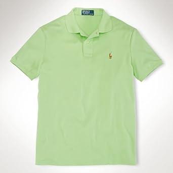 Polo Ralph Lauren Pima Interlock Mens Polo Shirt Small Key #0: 31A37VtYSxL SX342