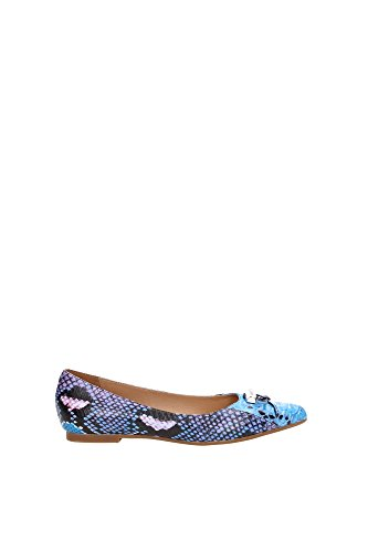 Ballerine Armani Jeans Donna Pelle Multicolore A5517313A Blu 38EU