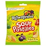 Rowntree's Sours Pastilles 165G