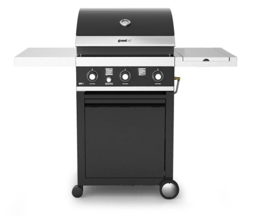 Grand Hall GTI 3 Gas Barbecue with Side-Burner