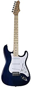 Jameson Full Size Blue Electric Guitar With Tremolo by Jameson Guitars