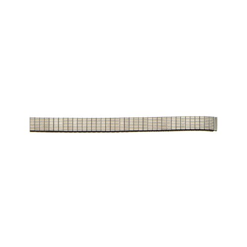 9Mm White/Silver Expansion Metal Watch Band front-616990