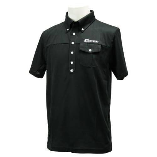 (オジオ)OGIO メンズ ボタンダウンシャツ 764600 BK ブラック L