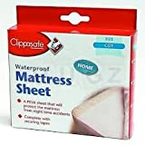 Clippasafe Waterproof Mattress Sheet - COT Size